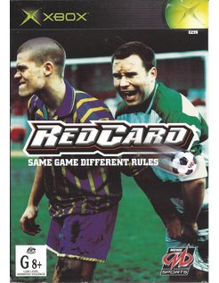 RED CARD REDCARD voor Xbox