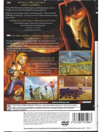 HAVEN CALL OF THE KING für Playstation 2 PS2