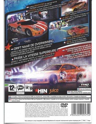 JUICED 2 HOT IMPORT NIGHTS für Playstation 2 PS2