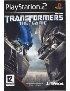 TRANSFORMERS THE GAME voor Playstation 2 PS2