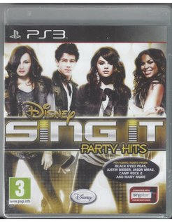 SING IT PARTY HITS für Playstation 3 PS3 - NEU