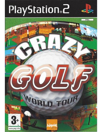 CRAZY GOLF WORLD TOUR voor Playstation 2 PS2