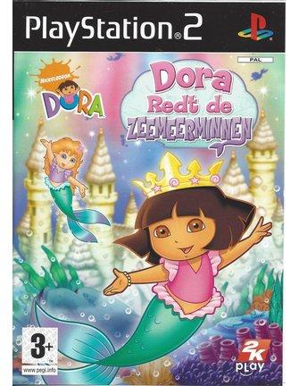DORA REDT DE ZEEMEERMINNEN für Playstation 2 PS2