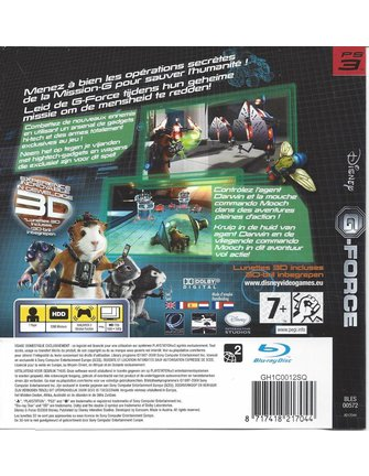 G-FORCE voor Playstation 3 PS3