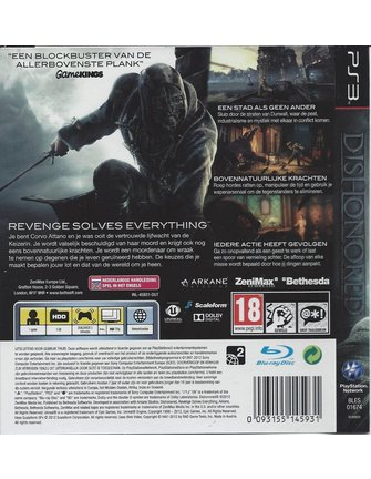 DISHONORED für Playstation 3 PS3