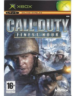 CALL OF DUTY FINEST HOUR voor Xbox