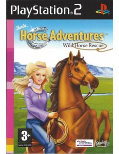 BARBIE HORSE ADVENTURES - WILD HORSE RESCUE voor Playstation 2 PS2