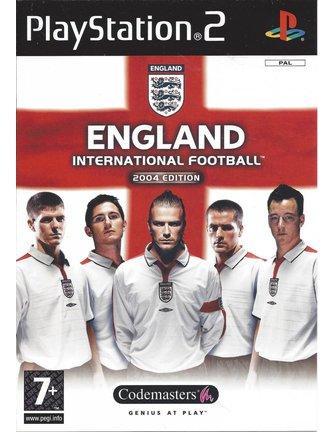 ENGLAND INTERNATIONAL FOOTBALL 2004 EDITION für Playstation 2 PS2