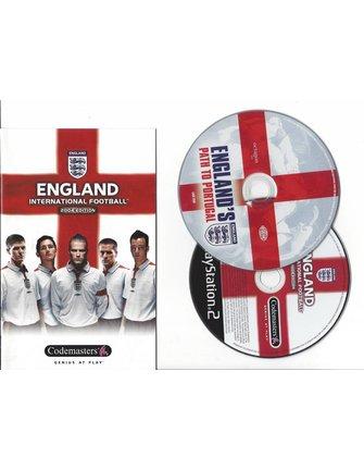 ENGLAND INTERNATIONAL FOOTBALL 2004 EDITION voor Playstation 2 PS2