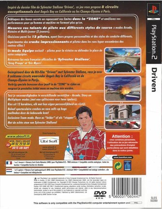 DRIVEN für PlayStation 2 PS2