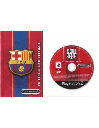 FC BARCELONA CLUB FOOTBALL 2003/04 SEASON voor Playstation 2 PS2