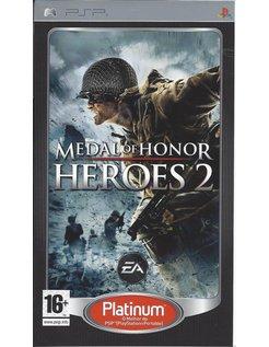 MEDAL OF HONOR HEROES 2 voor PSP