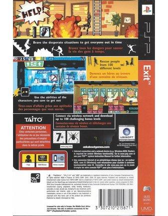 EXIT voor PSP