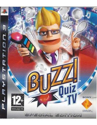 BUZZ QUIZ TV SPECIAL EDITION voor Playstation 3 PS3