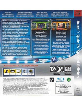 BUZZ QUIZ TV SPECIAL EDITION für Playstation 3 PS3