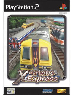 X-TREME EXPRESS WORLD GRAND PRIX voor Playstation 2 PS2