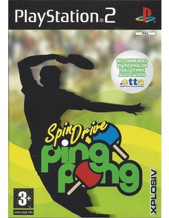SPINDRIVE PING PONG voor Playstation 2 PS2