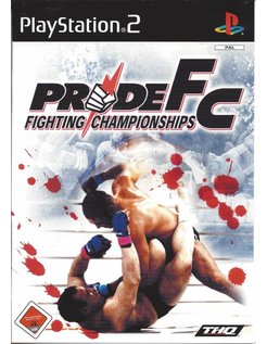 PRIDE FIGHTING CHAMPIONSHIPS - PRIDE FC voor Playstation 2 P2