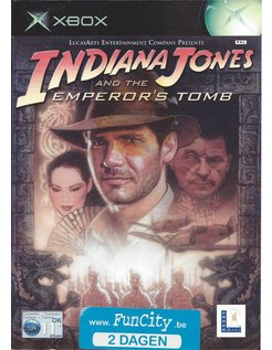 INDIANA JONES AND THE EMPEROR'S TOMB for Xbox