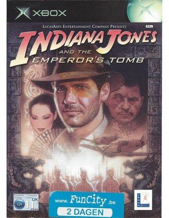 INDIANA JONES AND THE EMPEROR'S TOMB voor Xbox