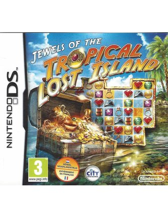 JEWELS OF THE LOST TROPICAL ISLAND voor Nintendo DS