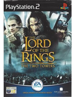 THE LORD OF THE RINGS - THE TWO TOWERS voor Playstation 2 PS2 - in het Nederlands