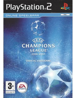 UEFA CHAMPIONS LEAGUE 2006-2007 voor Playstation 2 PS2