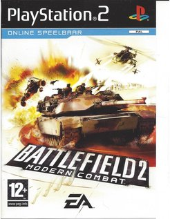 BATTLEFIELD 2 MODERN COMBAT voor Playstation 2 PS2
