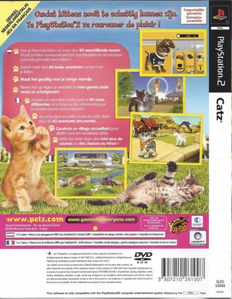 CATZ für Playstation 2 PS2