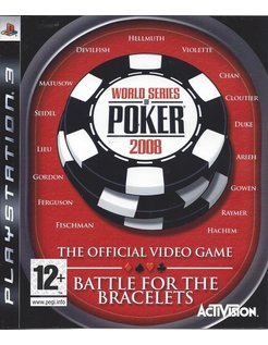 WORLD SERIES OF POKER 2008 voor Playstation 3 PS3
