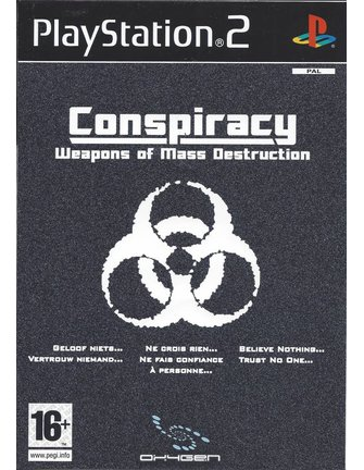CONSPIRACY WEAPONS OF MASS DESTRUCTION voor Playstation 2 PS2