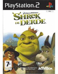 SHREK DE DERDE voor Playstation 2 PS2