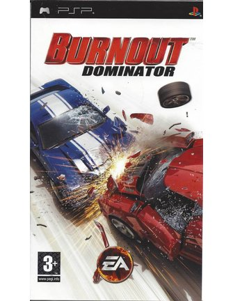 BURNOUT DOMINATOR voor PSP