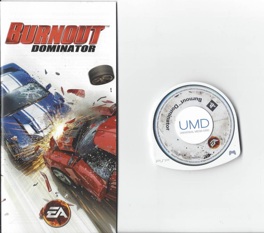 Burnout Dominator for Playstation Portable PSP - Passion For Games
