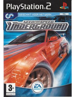 NEED FOR SPEED UNDERGROUND für Playstation 2 PS2