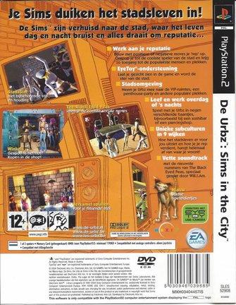 DE URBZ SIMS IN THE CITY voor Playstation 2 PS2