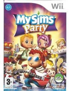 MYSIMS MY SIMS PARTY voor Nintendo Wii