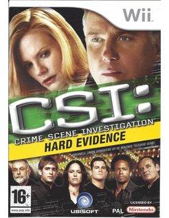 CSI CRIME SCENE INVESTIGATION HARD EVIDENCE voor Nintendo Wii