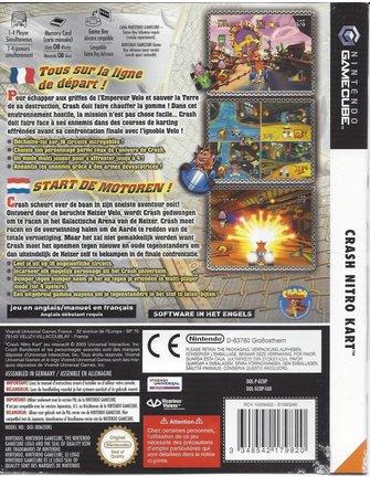 CRASH NITRO KART für Nintendo Gamecube