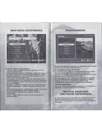 GHOST RECON voor Nintendo Gamecube