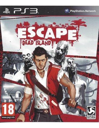 ESCAPE DEAD ISLAND voor Playstation 3 PS3