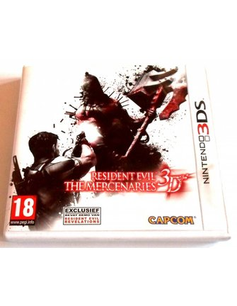 RESIDENT EVIL THE MERCENARIES 3D for Nintendo 3DS - with box, manual & more