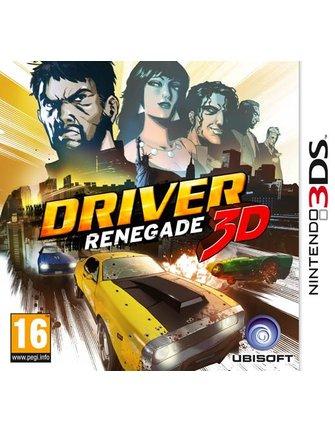 DRIVER RENEGADE 3D voor de Nintendo 3DS - met doosje en handleiding