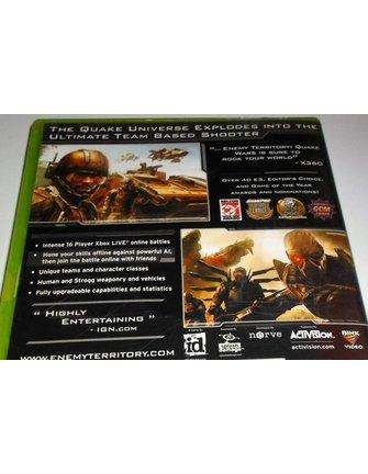 ENEMY TERRITORY QUAKE WARS für Xbox 360 - in OVP und Anleitung