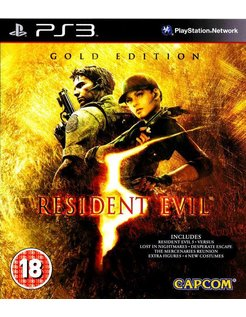 RESIDENT EVIL 5 GOLD EDITION für Playstation 3 PS3