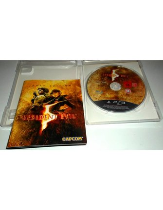 RESIDENT EVIL 5 GOLD EDITION for Playstation 3 PS3 - with box & manual