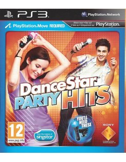 DANCESTAR PARTY HITS voor Playstation 3 PS3
