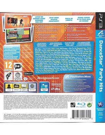 DANCESTAR PARTY HITS voor Playstation 3 PS3