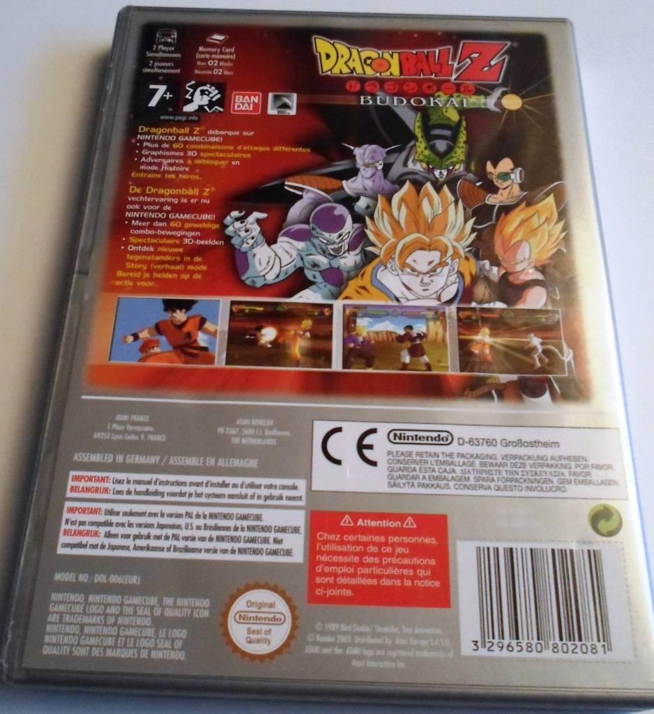 Dragon Ball Z Budokai - Nintendo Gamecube PAL - Passion For