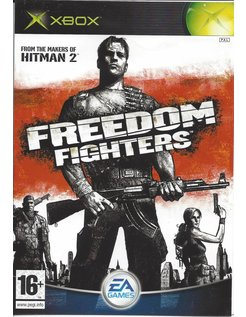 FREEDOM FIGHTERS for Xbox- manual in EN